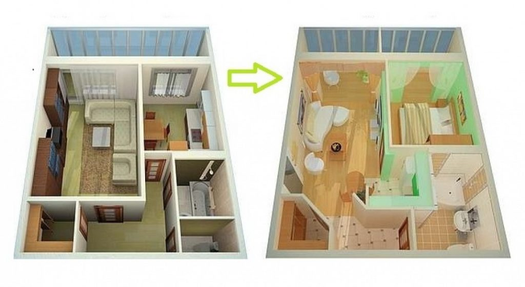 Как узаконить перепланировку в квартире