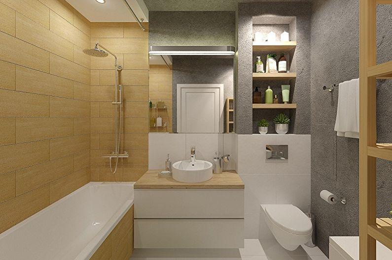 Интерьер санузла – идеи дизайна, отделка, сантехника