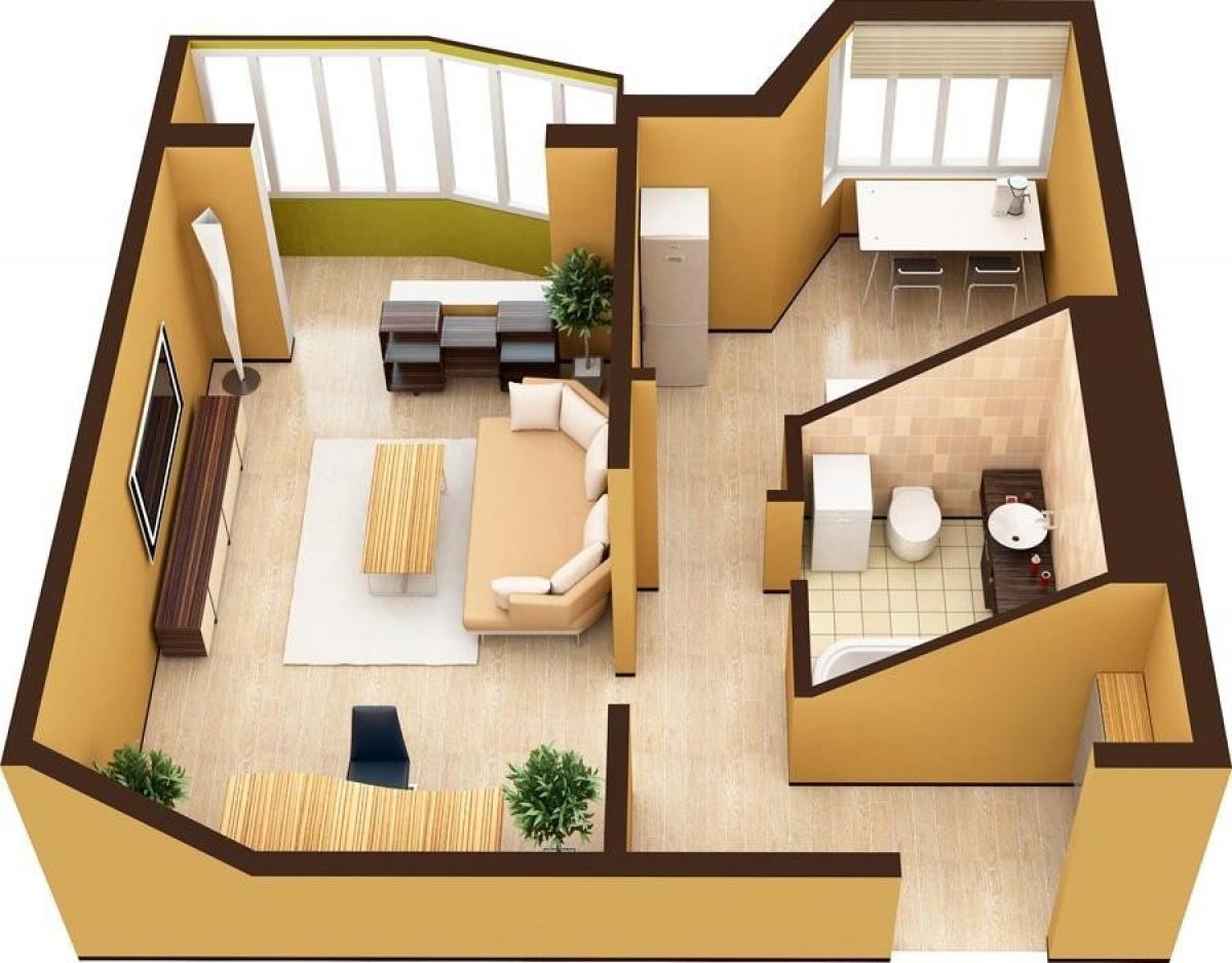 Как выбрать однокомнатную квартиру