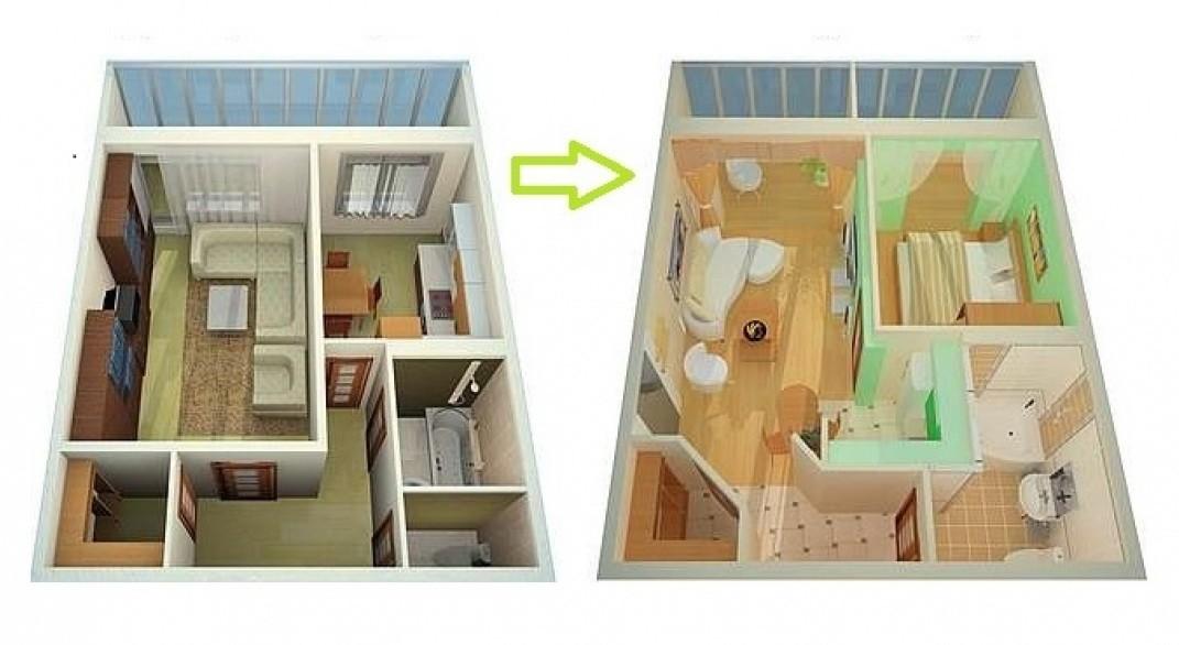 Как выполнить перепланировку в квартире