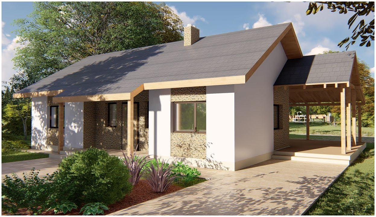 Компактный дом: как грамотно спроектировать чтобы семье из 3-4 человек было удобно?