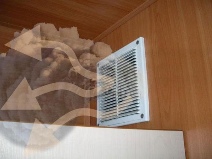 Почему дует из вентиляции - причины обратной тяги