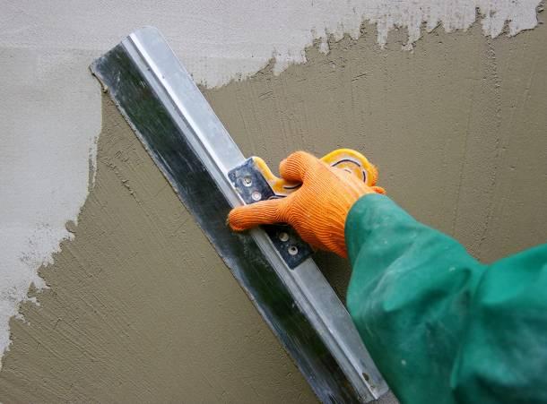 Полимерная шпаклевка для выравнивания стен