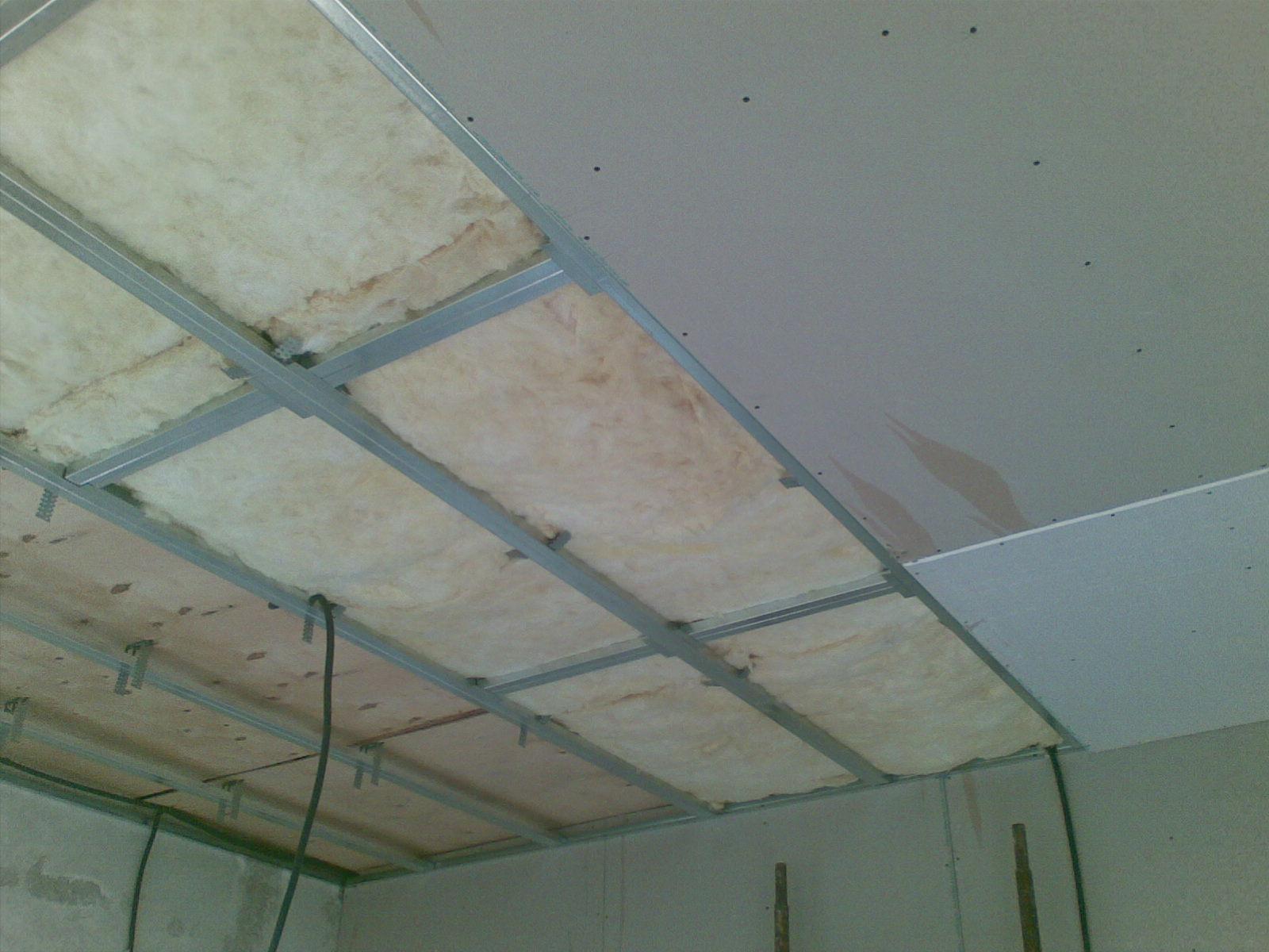 Сделать потолок из гипсокартона