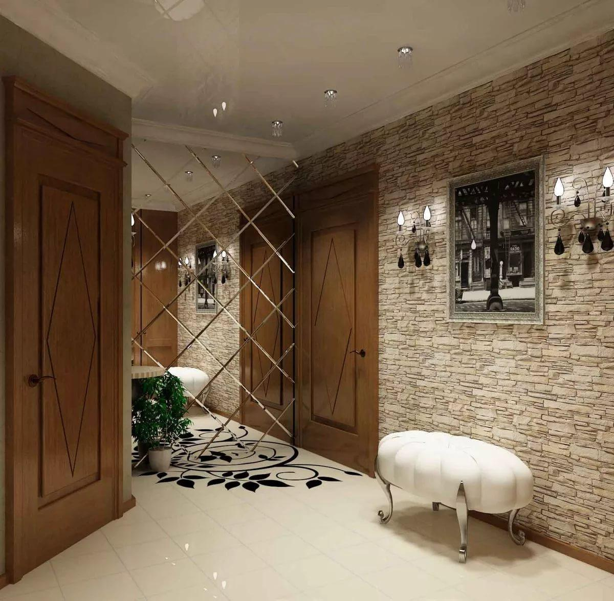 Виды отделки стен в доме